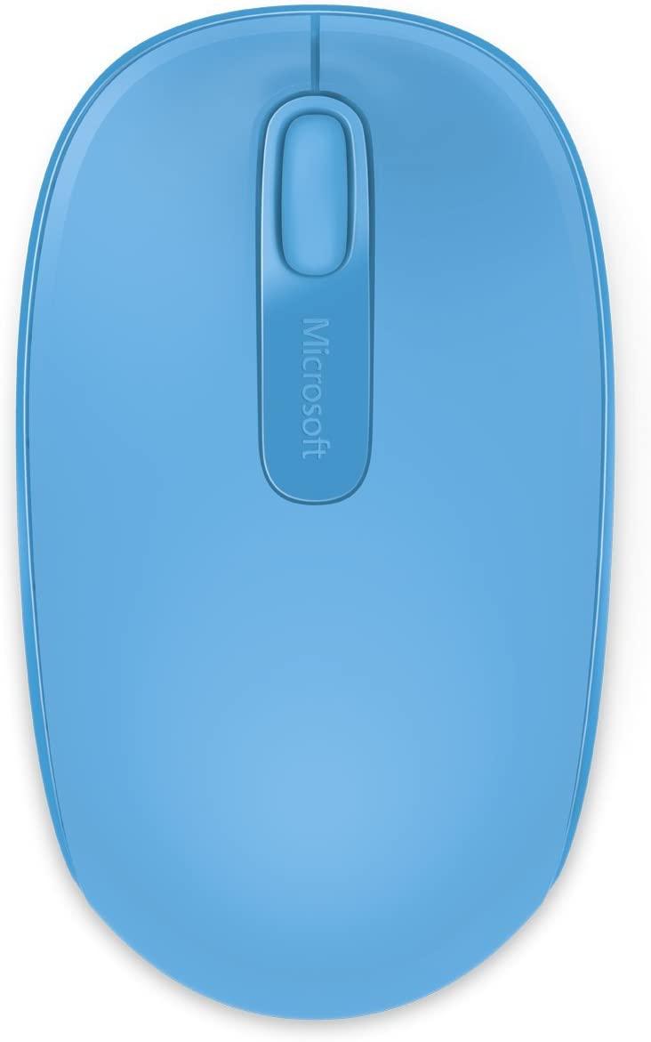Microsoft Wireless Mouse 1850 เมาส์ไร้สาย สีฟ้า ของแท้ ประกันศูนย์ 3ปี (Cyan Blue)