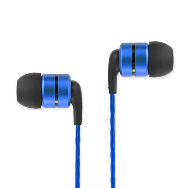 Soundmagic E80C หูฟัง In-Ear Noise Isolating with Microphone มีไมค์ควบคุมเสียง สีฟ้า ของแท้ ประกันศูนย์ 1ปี (Blue)
