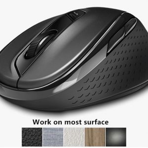 Rapoo M500 Multi-mode Silent Wireless Mouse Bluetooth สีดำ ประกันศูนย์ 2ปี ของแท้ เสียงคลิกเบา (Black)