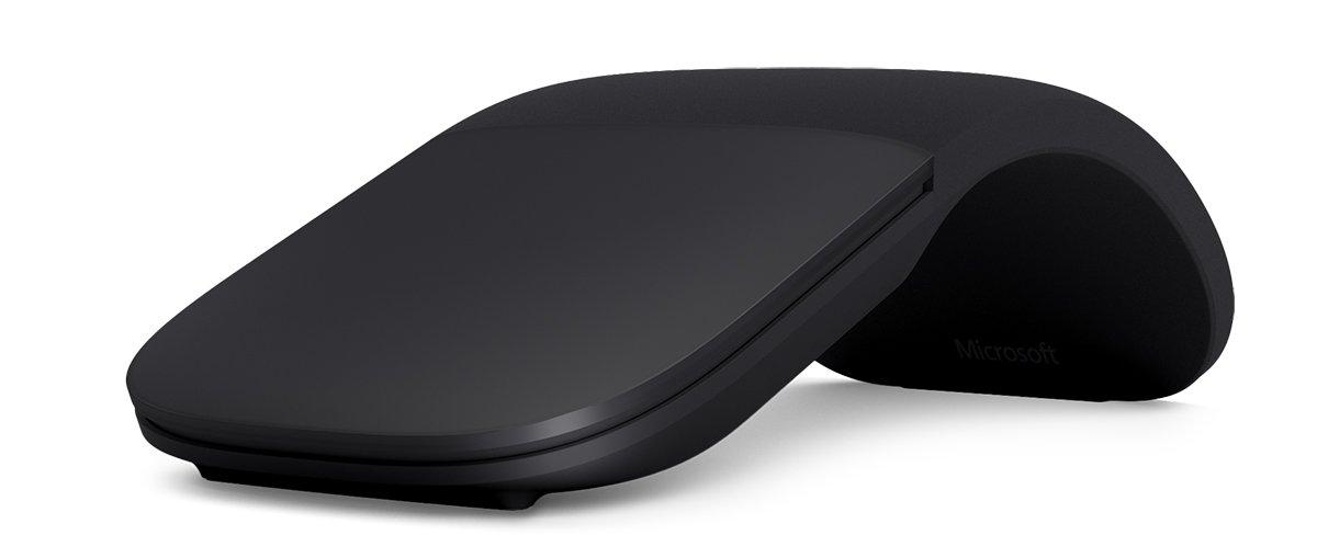 Microsoft Arc Touch Bluetooth Mouse เมาส์ไร้สาย สีดำ ของแท้ ประกันศูนย์ 3ปี (Black)