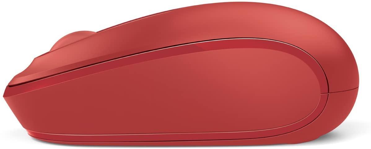 Microsoft Wireless Mouse 1850 เมาส์ไร้สาย สีแดง ของแท้ ประกันศูนย์ 3ปี (Red)