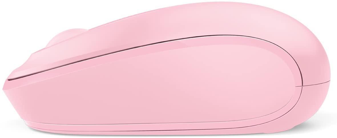 Microsoft Wireless Mouse 1850 เมาส์ไร้สาย สีชมพู ของแท้ ประกันศูนย์ 3ปี (Pink)