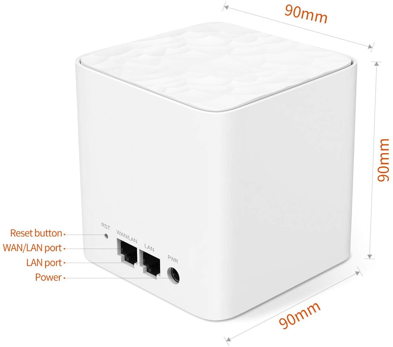 Tenda MW3 [Pack-3] / Mesh / AC1200 Whole Home Mesh WiFi System ของแท้ ประกันศูนย์ 5ปี