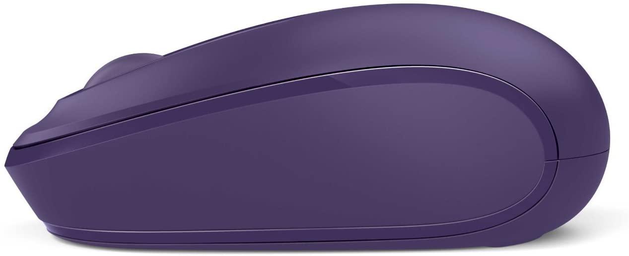 Microsoft Wireless Mouse 1850 เมาส์ไร้สาย สีม่วง ของแท้ ประกันศูนย์ 3ปี (Purple)