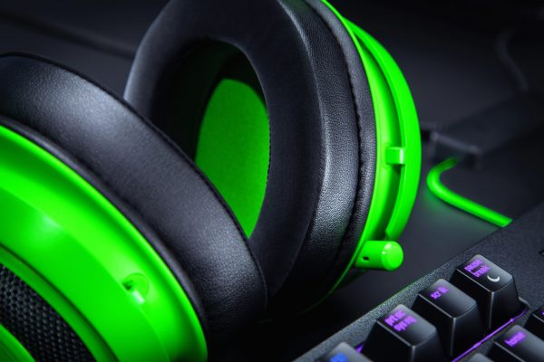 Razer Kraken Multi-Platform Gaming Headset สีเขียว ประกันศูนย์ 2ปี ของแท้ หูฟังสำหรับเล่นเกม (Green)