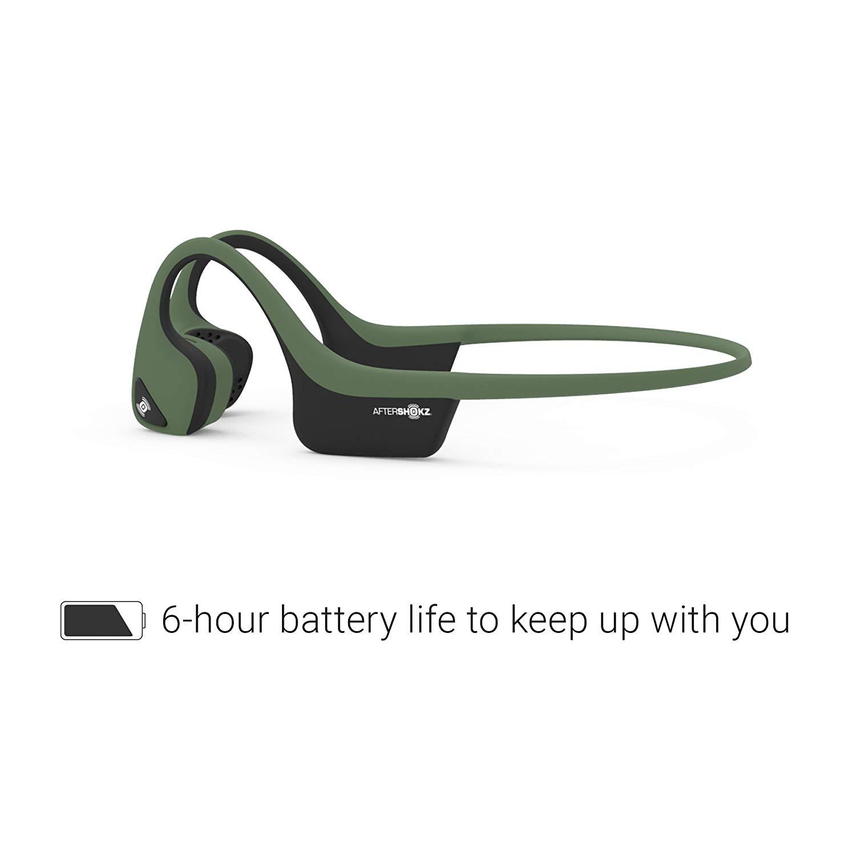 Aftershokz Trekz Air ของแท้ ประกันศูนย์ 2ปี หูฟังออกกำลังกาย Bluetooth สีเขียว (Forest Green)