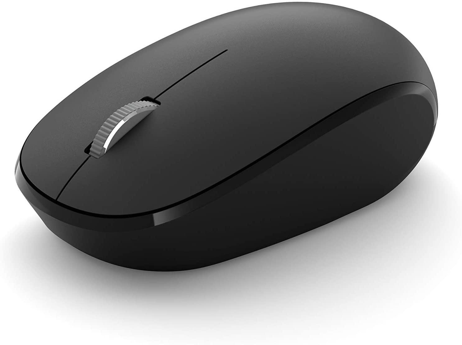 Microsoft Bluetooth Mouse เมาส์ไร้สาย สีดำ ของแท้ ประกันศูนย์ 3ปี (Black)