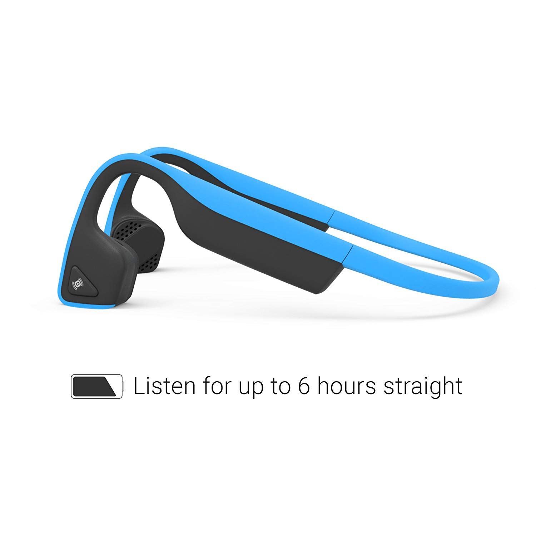 Aftershokz Trekz Titanium ของแท้ ประกันศูนย์ 2ปี หูฟังออกกำลังกาย Bluetooth สีฟ้า (Blue)