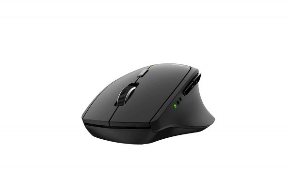 Rapoo MT550 Multi-mode Wireless 2.4G Bluetooth 3.0/4.0 Mouse 1600dpi สีดำ ประกันศูนย์ 2ปี ของแท้ (Black)