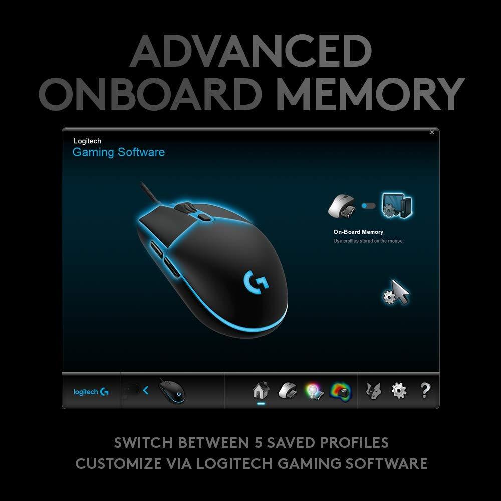 LOGITECH G PRO HERO Gaming Mouse ของแท้ ประกันศูนย์ 2ปี
