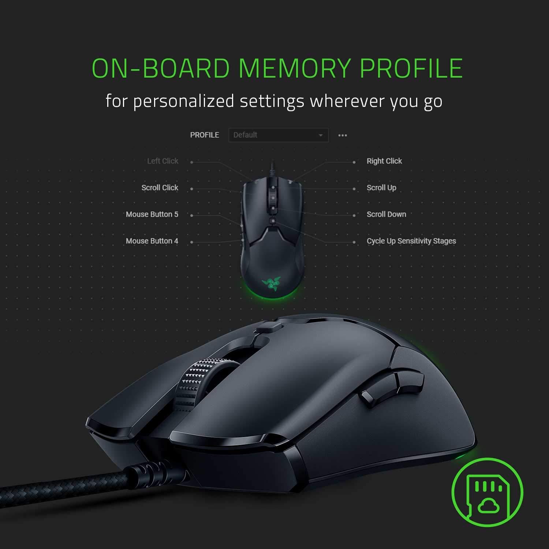 Razer Viper Mini Ultra-Light and Ultra-Fast Gaming Mouse ของแท้ ประกันศูนย์ 2ปี