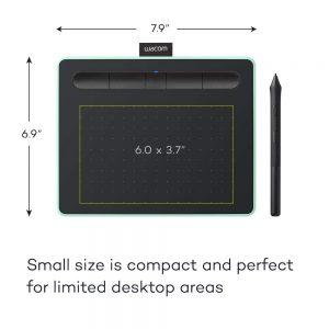 Wacom Intuos Pen Small Gen 10 รุ่น CTL-4100WL สีเขียว เมาส์ปากกา รุ่นใหม่ 2018 รับประกันสินค้า 1ปี (CTL-4100WL/E0-CX) - Pistachio Green