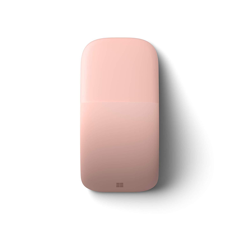 Microsoft Arc Touch Bluetooth Mouse เมาส์ไร้สาย สีชมพู ของแท้ ประกันศูนย์ 3ปี (Pink)