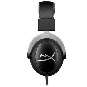 HyperX Cloud Silver - Gaming Headset สีเทา ประกันศูนย์ 2ปี ของแท้ หูฟังสำหรับเล่นเกม (Silver) ( HX-HSCL-SR/NA )