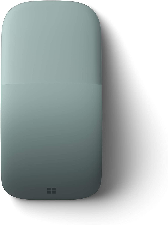 Microsoft Arc Touch Bluetooth Mouse เมาส์ไร้สาย สีเขียว ของแท้ ประกันศูนย์ 3ปี (Sage)