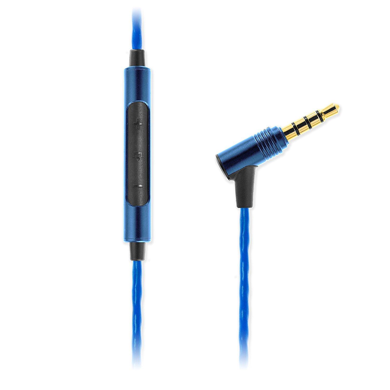 Soundmagic E10C หูฟัง In-Ear Noise Isolating with Microphone Hi-Fi Award มีไมค์ควบคุมเสียง สีฟ้า ของแท้ ประกันศูนย์ 1ปี (ฺBlue)
