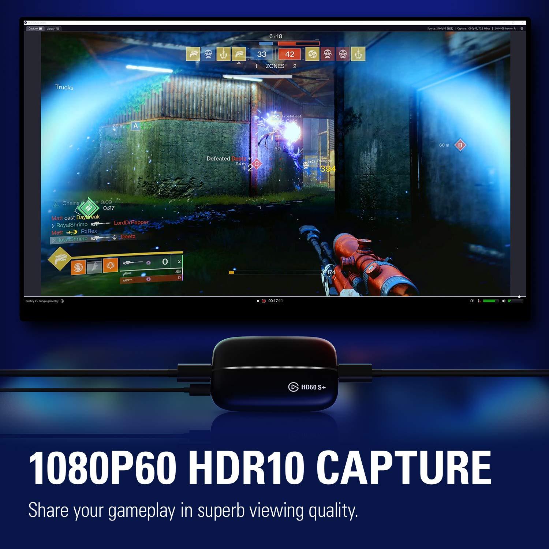 Elgato Game Capture HD60 S+ 1080p60 HDR10 Capture with 4K60 HDR10 Zero-Lag ของแท้ ประกันศูนย์ 1ปี