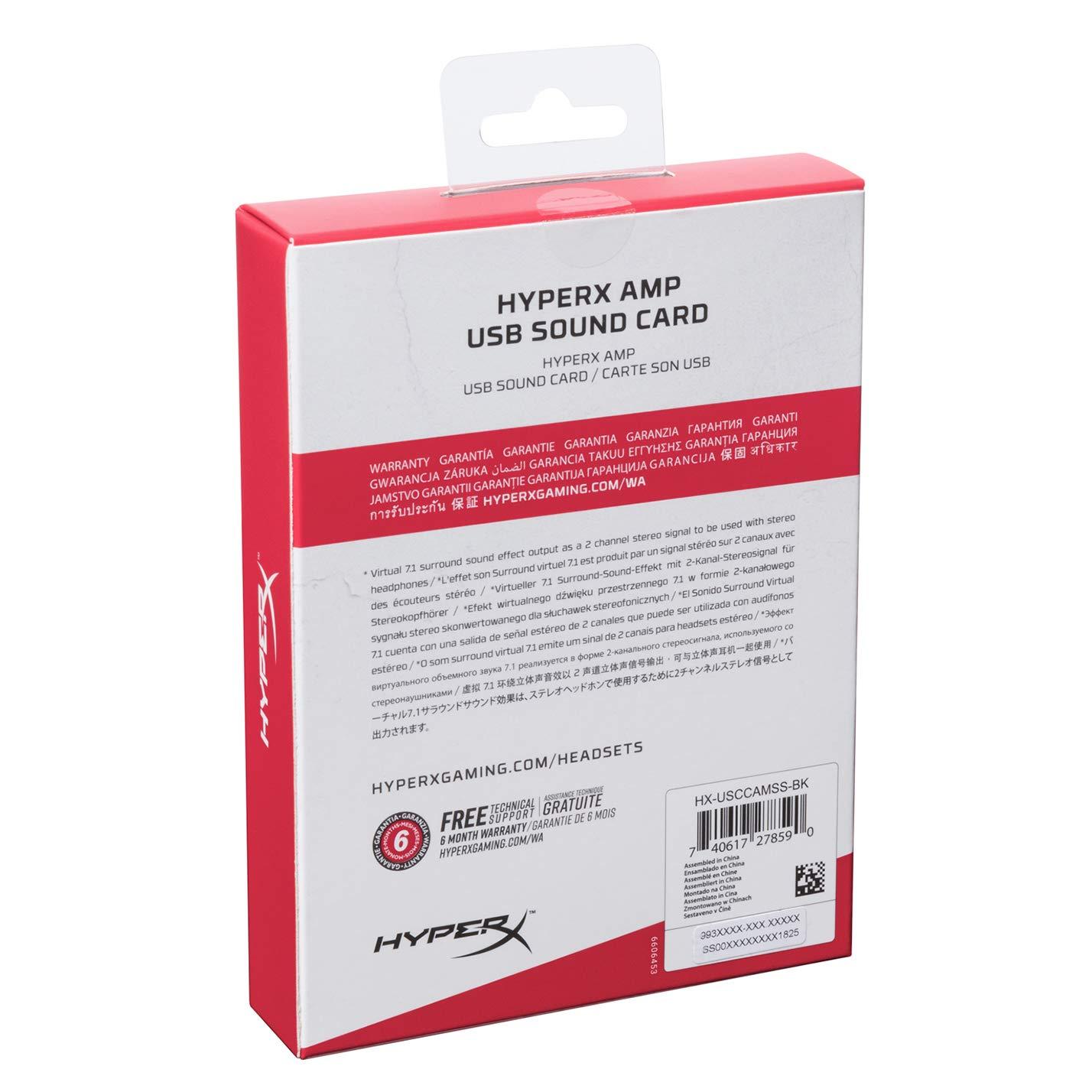 HyperX Accessories AMP USB Sound Card ของแท้ ประกันศูนย์ 2ปี