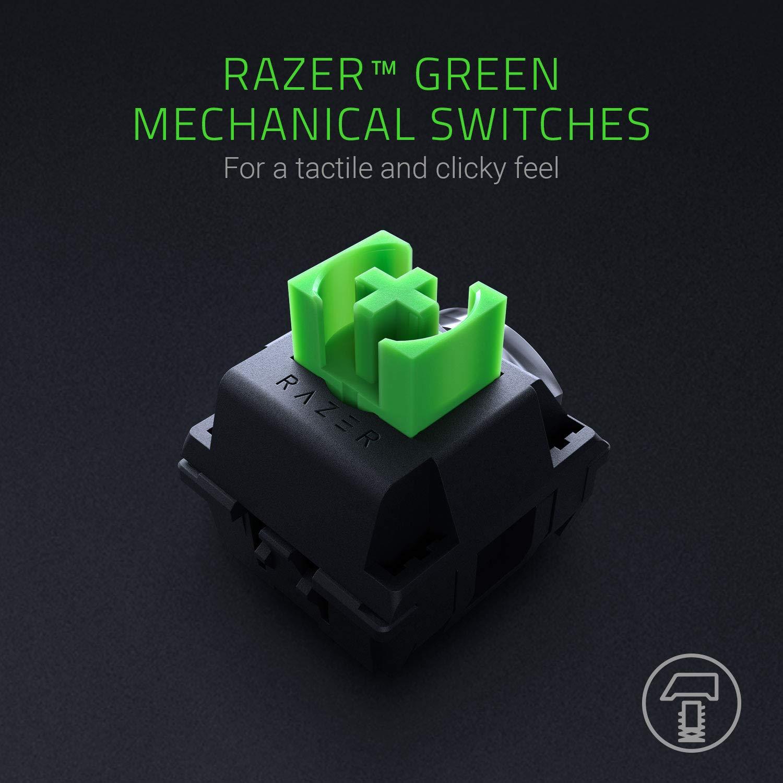 Razer BlackWidow 2019 Green SW Mechanical Gaming Keyboard แป้นภาษาไทย/อังกฤษ ของแท้ ประกันศูนย์ 2ปี คีย์บอร์ด เกมส์