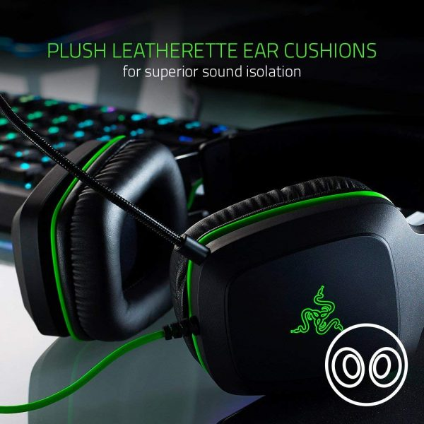 Razer Electra V2 USB Gaming Headset ประกันศูนย์ 2ปี ของแท้ หูฟังสำหรับเล่นเกม