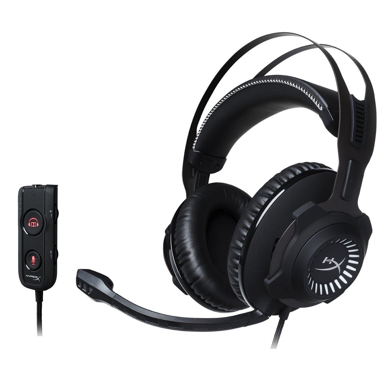 HyperX Cloud Revolver S Gaming Headset Dolby 7.1 Surround สีเทา ประกันศูนย์ 2ปี ของแท้ หูฟังสำหรับเล่นเกม