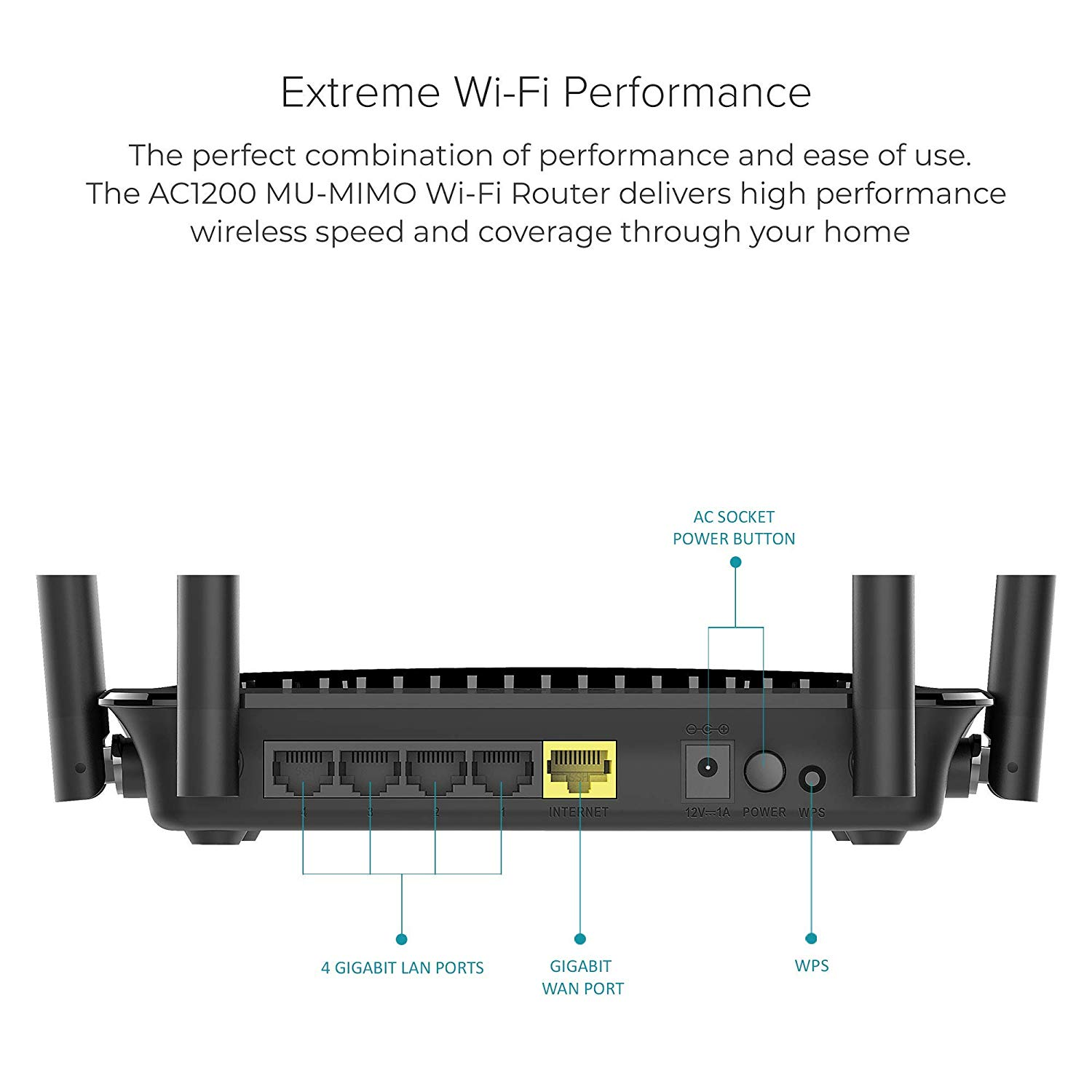 D-Link DIR-842 Wireless AC1200 Dual Band Gigabit Router ของแท้ ประกันศูนย์ Limited Lifetime