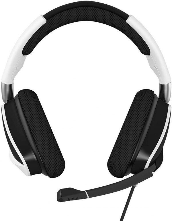 Corsair VOID ELITE RGB USB 7.1 Gaming Headset สีขาว ประกันศูนย์ 2ปี ของแท้ หูฟังสำหรับเล่นเกม (White)