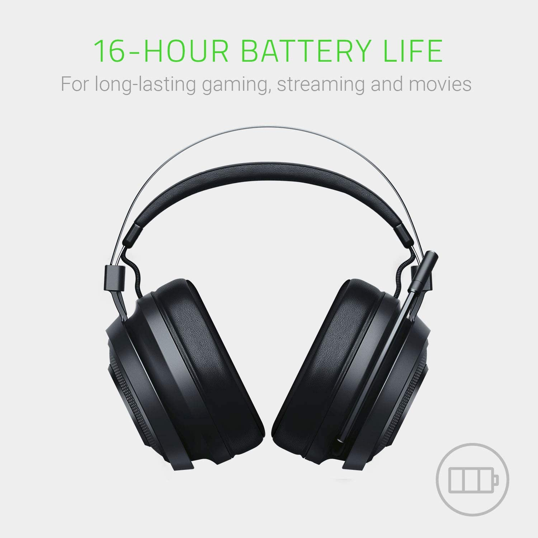 Razer Nari Essential Wireless Gaming Headset ประกันศูนย์ 2ปี ของแท้ หูฟังสำหรับเล่นเกม