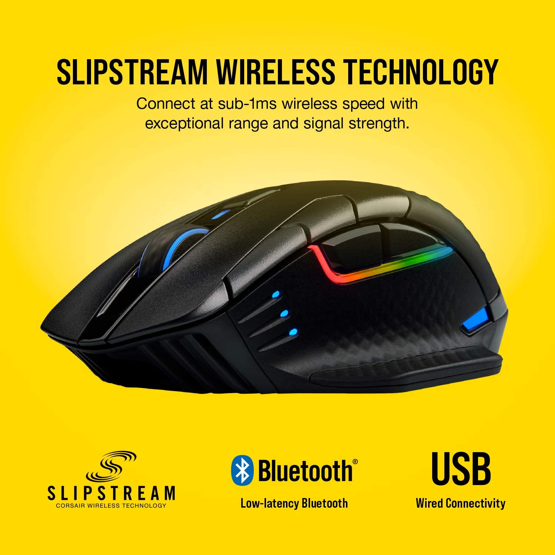 Corsair Dark Core Pro RGB SE Wireless Gaming Mouse ของแท้ ประกันศูนย์ 2ปี