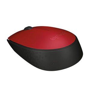 Logitech M171 Wireless Mouse สีแดง ประกันศูนย์ 1ปี ของแท้ (Red)