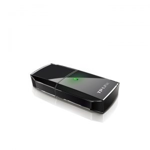 TP-Link Archer T2U AC600 Wireless Dual Band USB Adapter ของแท้ รับประกันศูนย์ไทย Limited Lifetime Warranty (สีดำ)