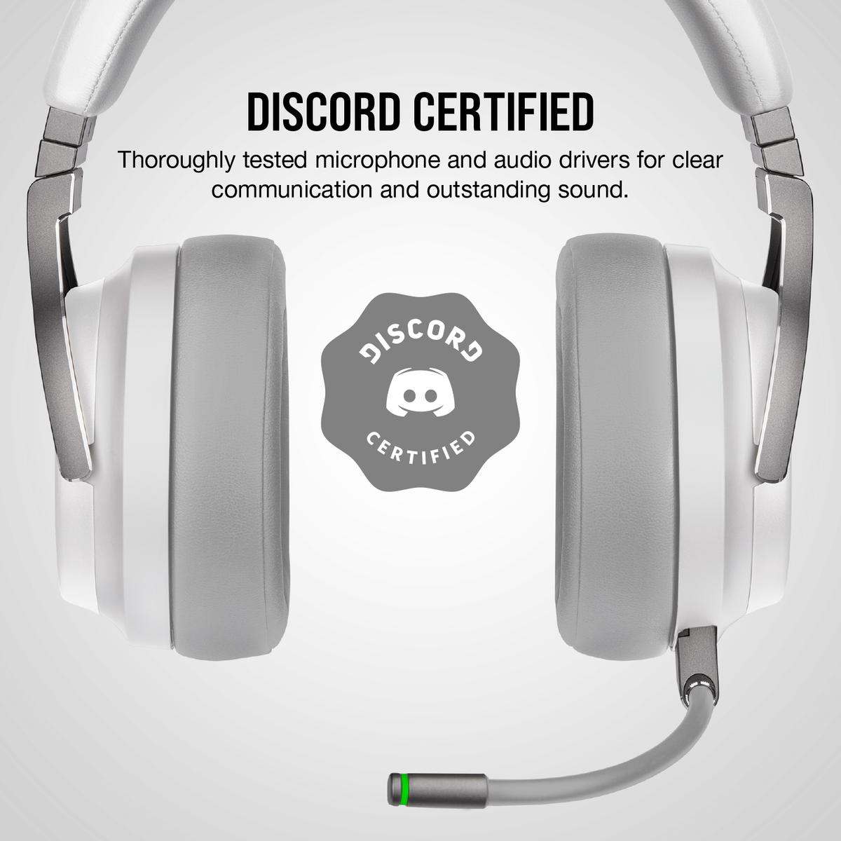 Corsair Virtuoso RGB Wireless Gaming Headset สีขาว ของแท้ ประกันศูนย์ 2ปี (White)