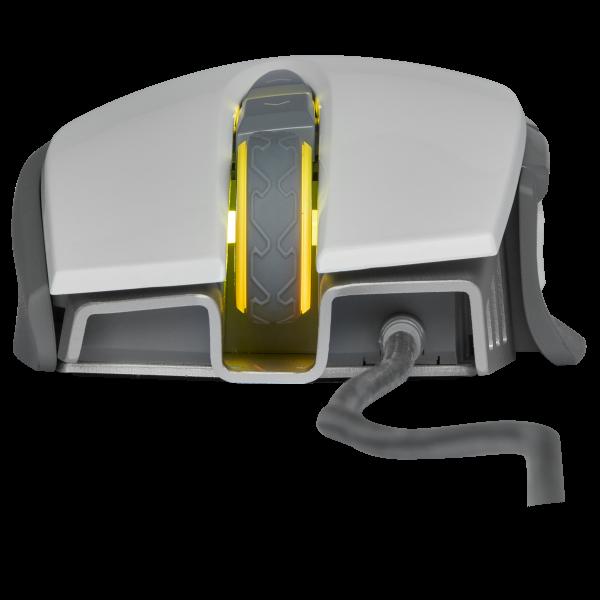 Corsair M65 RGB ELITE Tunable FPS Gaming Mouse สีขาว ประกันศูนย์ 2ปี ของแท้ เมาส์เล่นเกม (White)