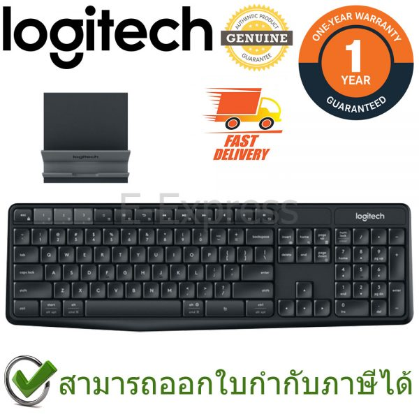 Logitech K375s Multi-Device Keyboard แป้นภาษาไทย/อังกฤษ ของแท้ ประกันศูนย์ 1ปี คีย์บอร์ด ไร้สาย