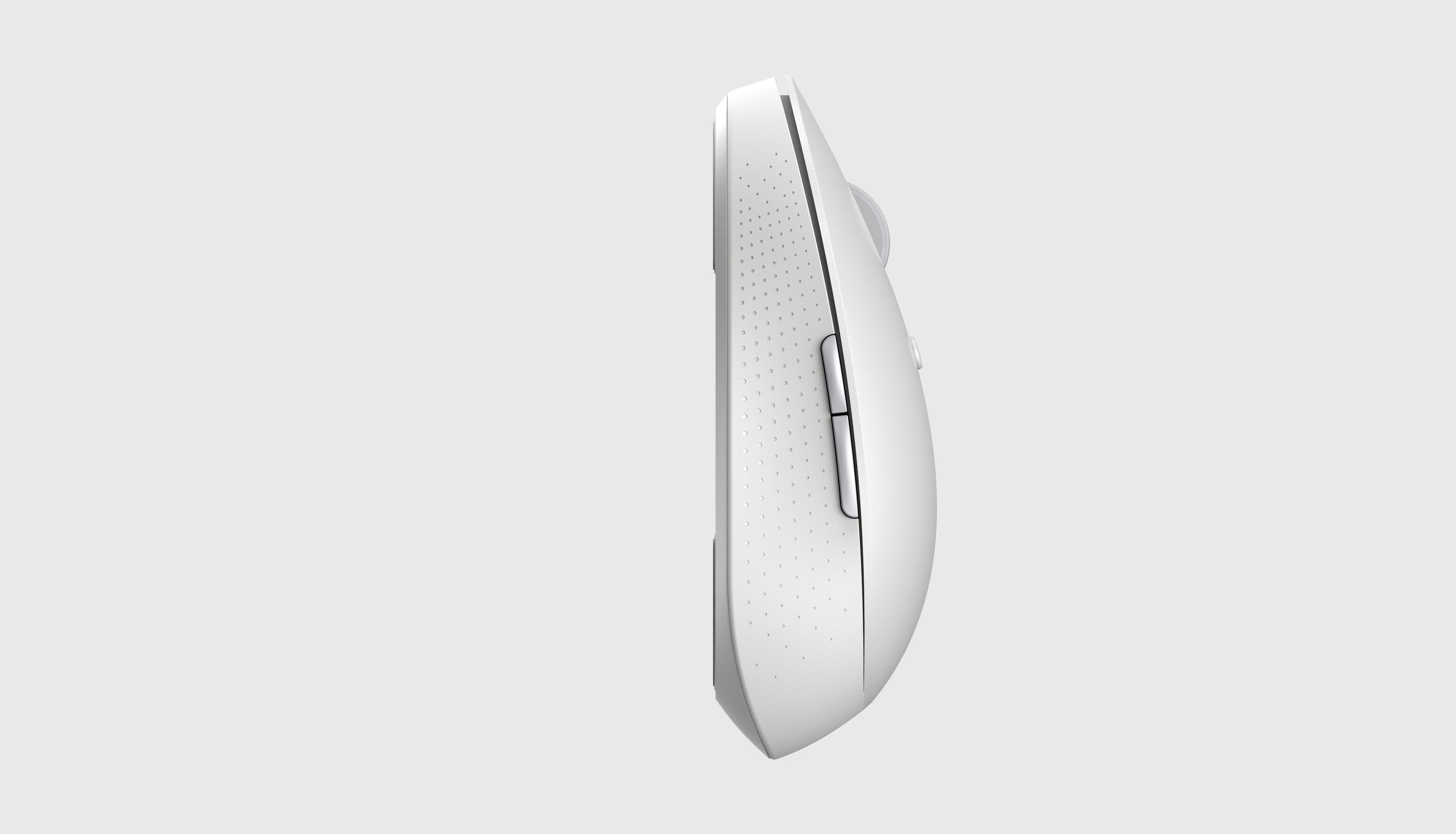 Xiaomi Mi Wireless Mouse Silent Edition Dual Mode เม้าส์ไร้สาย สีขาว (Global Version) - White