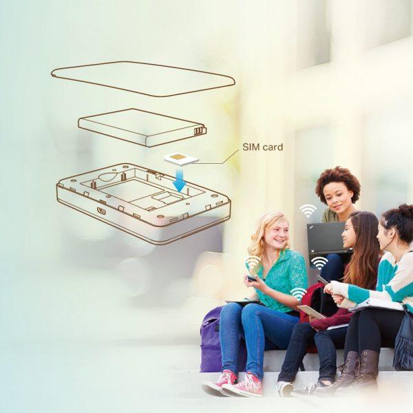 TP-Link M7350 POCKET WIFI MIFI 4G UNLOCKED 150Mbps รองรับ AIS/DTAC/TRUE/TOT/CAT(4G)