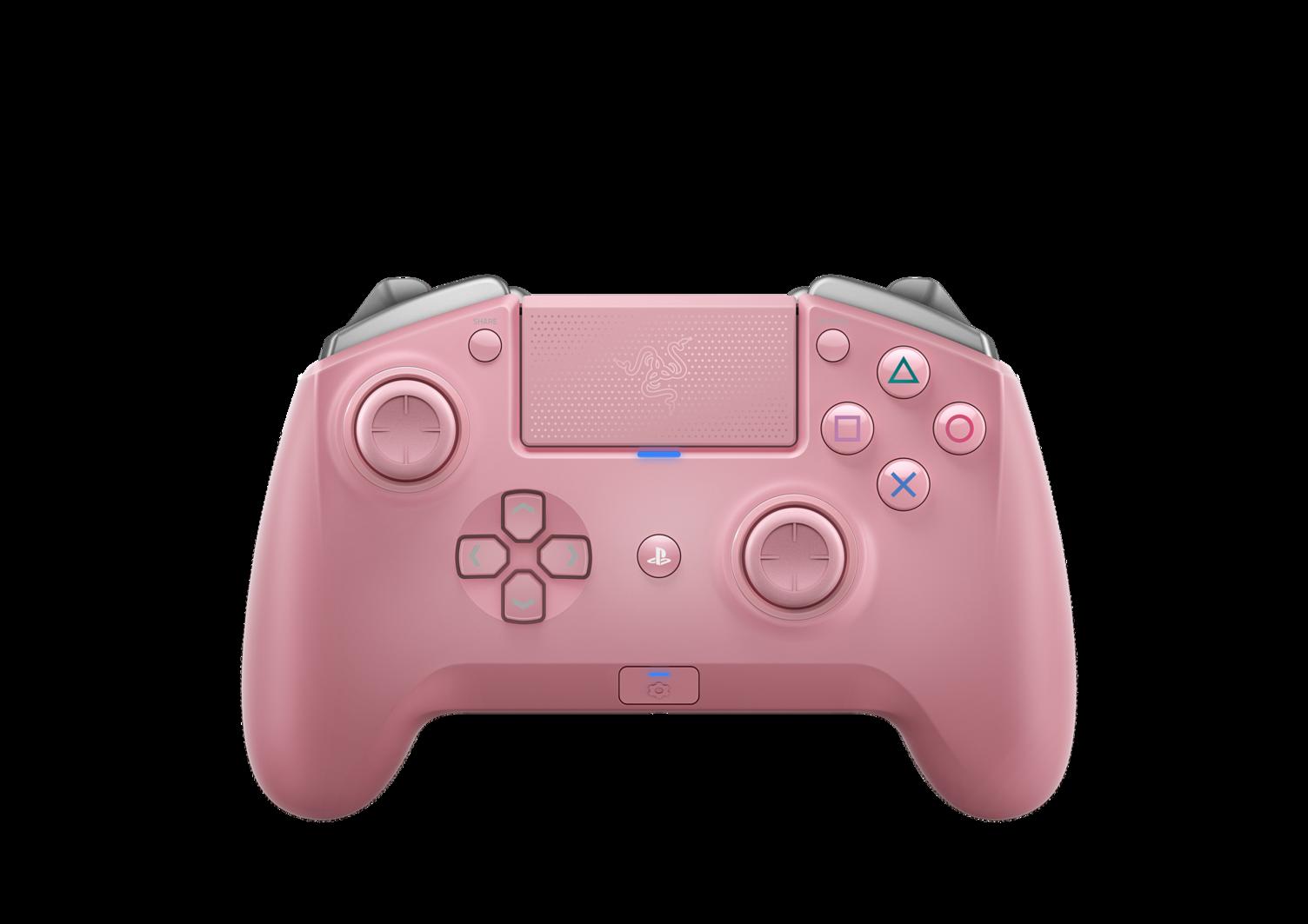 Razer Raiju Tournament Quartz Edition Wireless Joystick for PS4 , PC ของแท้ ประกันศูนย์ 1ปี จอยเกม สำหรับคอม และ PS4