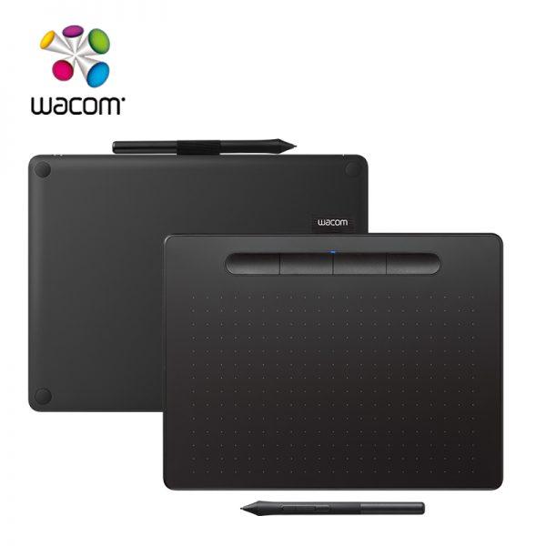 Wacom Intuos Pen Small Gen 10 รุ่น CTL-4100 เมาส์ปากกา รุ่นใหม่ 2018 รับประกันสินค้า 1ปี (CTL-4100/K0-CX) - Black