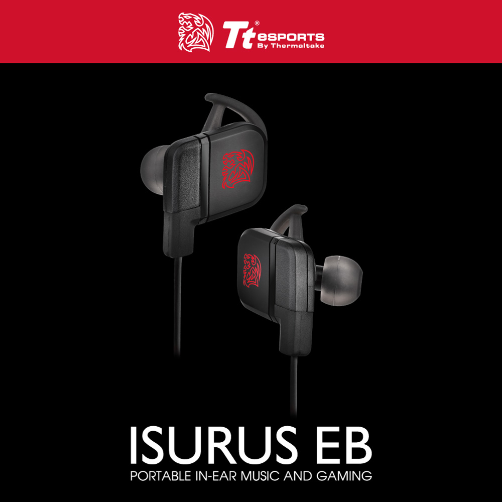 Tt eSport Isurus Earbud หูฟังเกมมิ่ง ของแท้ ประกันศูนย์ 2ปี