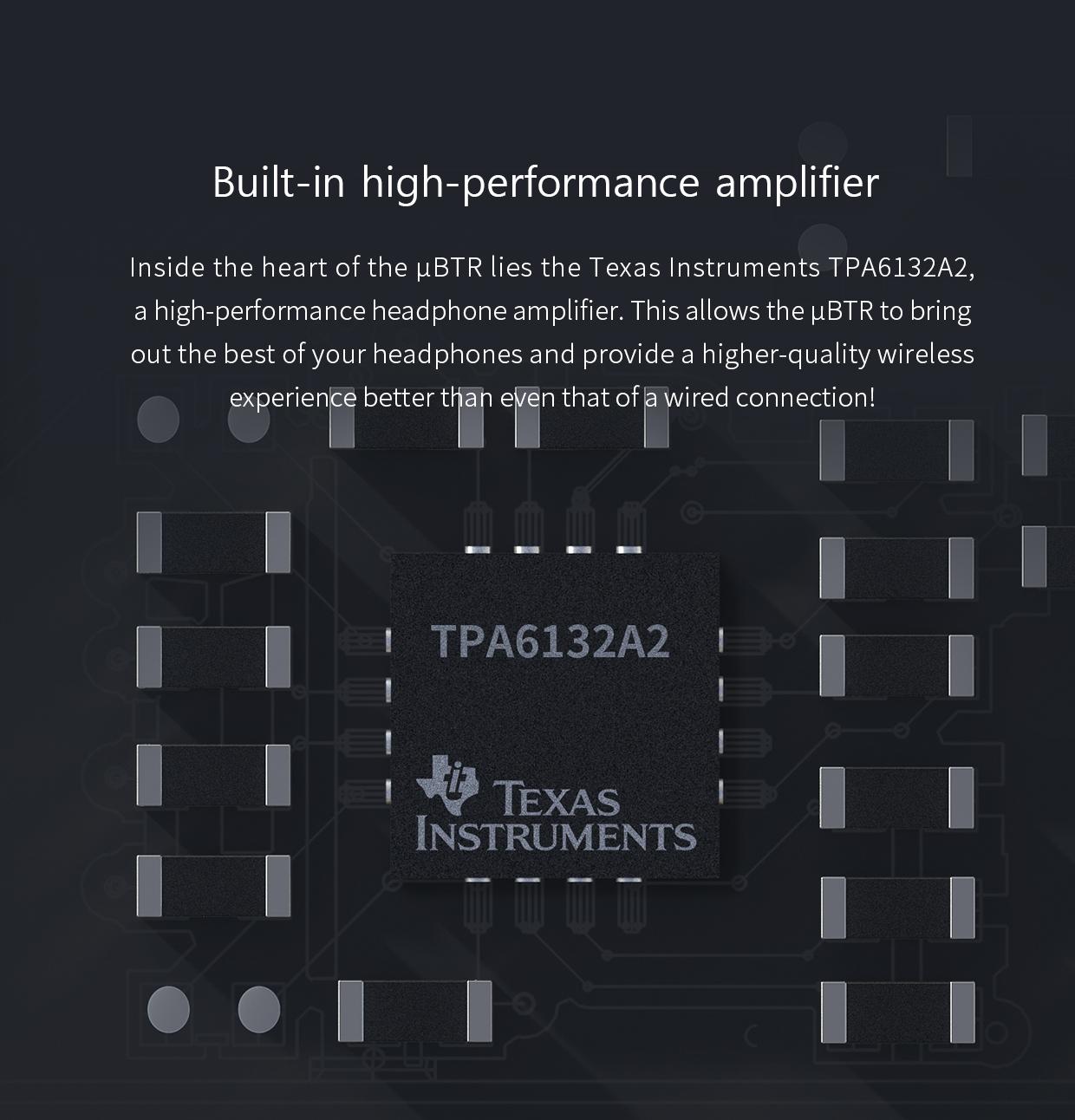 FiiO UBTR DAC/AMP Bluetooth รองรับอุปกรณ์ iOS Android สีดำ ของแท้ ประกันศูนย์ 1 ปี (Black)