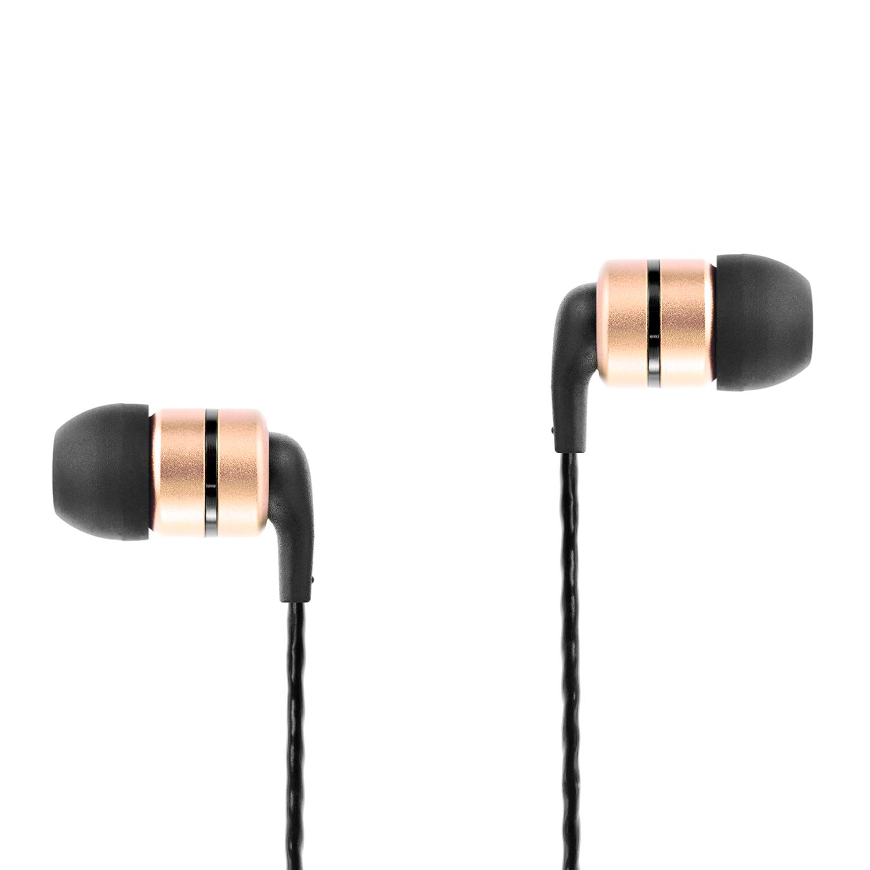 Soundmagic E80C หูฟัง In-Ear Noise Isolating with Microphone มีไมค์ควบคุมเสียง สีทอง ของแท้ ประกันศูนย์ 1ปี (Gold)