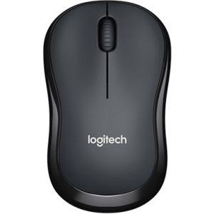 Logitech M221 Silent Wireless Mouse สีดำ ประกันศูนย์ 1ปี ของแท้ เสียงคลิกเบา