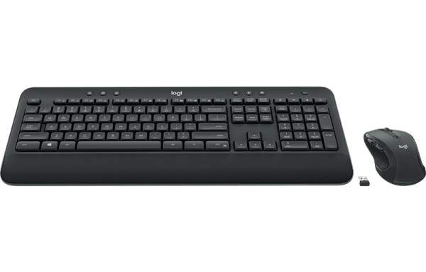 Logitech Wireless Keyboard and Mouse รุ่น MK545 Advanced แป้นภาษาไทย/อังกฤษ ของแท้ ประกันศูนย์ 1ปี เมาส์และคีย์บอร์ด ไร้สาย