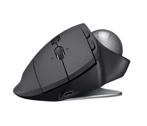 Logitech MX ERGO Advanced Wireless Trackball Mouse ประกันศูนย์ 1ปี ของแท้