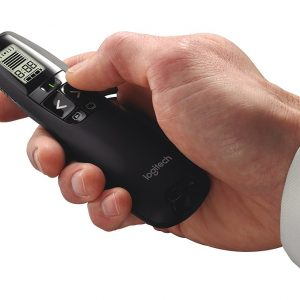 Logitech R800 Wireless Presenter Laser Pointer - Black (สีดำ) ประกันศูนย์ 3ปี ของแท้