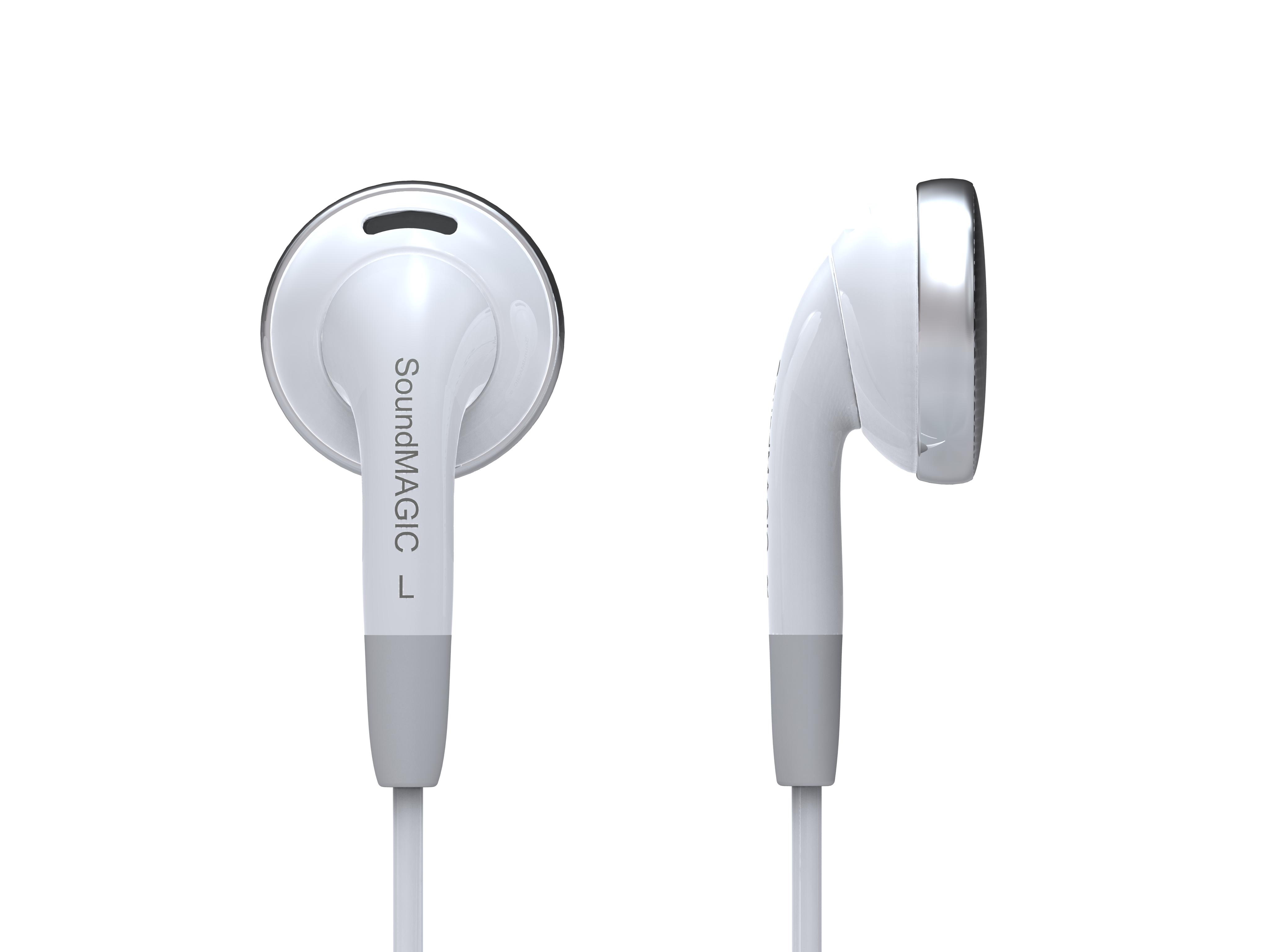 Soundmagic EP30 หูฟัง Dynamic Stereo Earbuds สีขาว ของแท้ ประกันศูนย์ 1ปี (White)