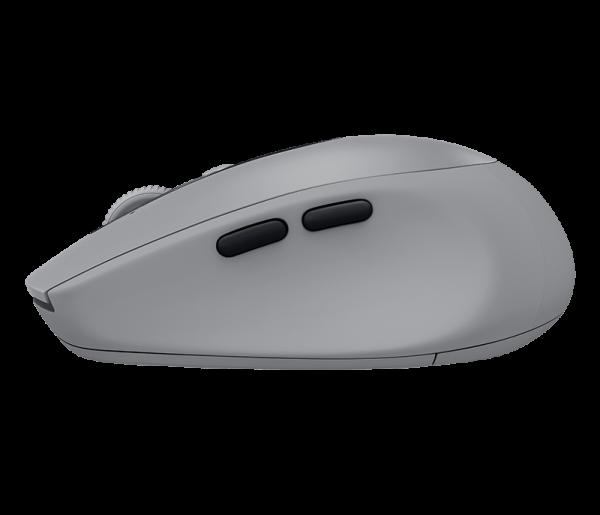 Logitech M590 Multi-Device Silent - Mid Grey Tonal สีเทา ประกันศูนย์ 1ปี ของแท้ เสียงคลิกเบา