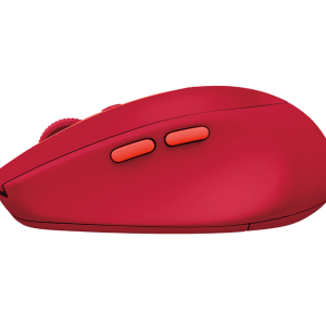 Logitech M590 Multi-Device Silent - Ruby สีแดง ประกันศูนย์ 1ปี ของแท้ เสียงคลิกเบา